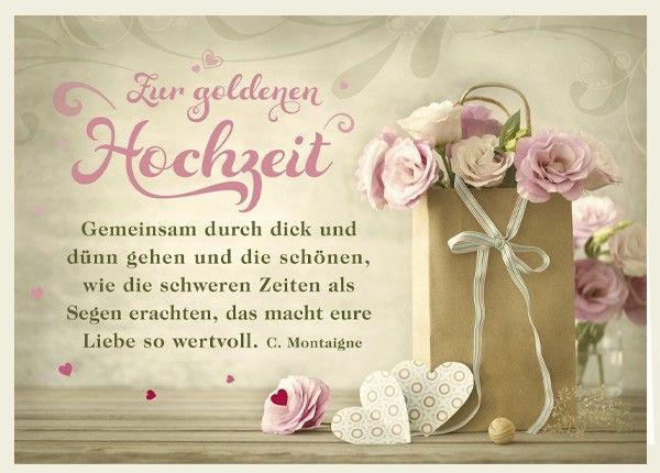 Doppelkarte Zur Goldenen Hochzeit Gemeinsam Spruche Hochzeit Spruche Zur Goldenen Hochzeit Geschenke Zur Goldenen Hochzeit