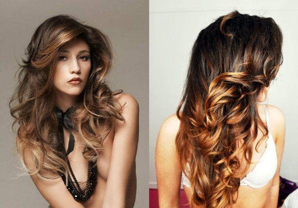 6 auff llige haarstile braune haare mit highlights my style hair clothes accesories. Black Bedroom Furniture Sets. Home Design Ideas