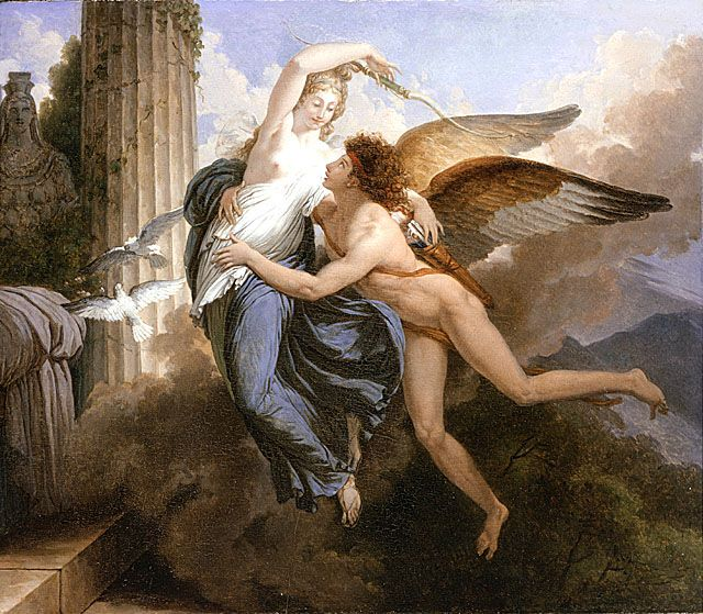 Saint Ours Jean Pierre The Reunion Of Cupid And Psyche Mitologia Grega Mitologia Cupido