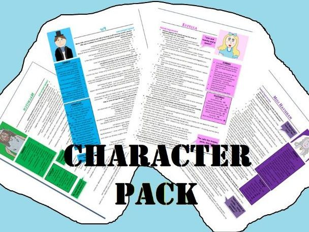 Great Expectations Character Revision Guide Collection (Grade 9 - 26