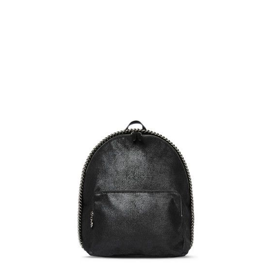 86f0a3f7d411 Shop the Black Falabella Shaggy Deer Mini Backpack by Stella Mccartney at  the official online store. Discover all product information.