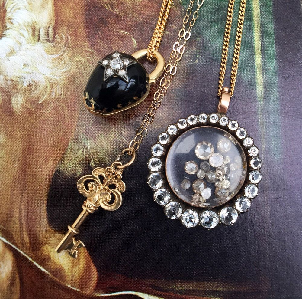 charmisma gold jian lockets locket sapphire london yellow heart
