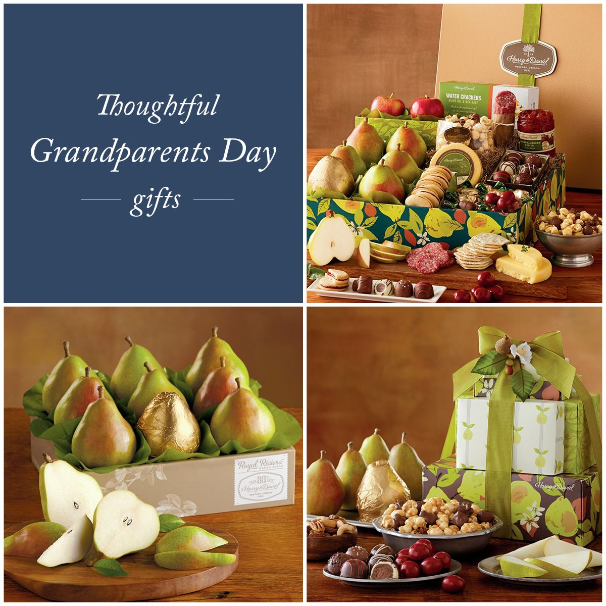 It's time to thank your wonderful grandparents for all that they do with a gourmet gift basket that they'll appreciate! Celebrate Grandparents Day on September 13th with us.