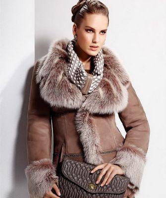 Женские модные дубленки фото 2018 / women's coats.