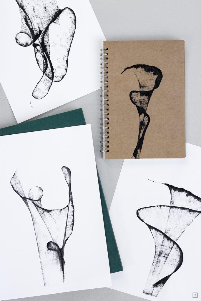abstrakte Dreckspatz-Kunst für Minimalisten
