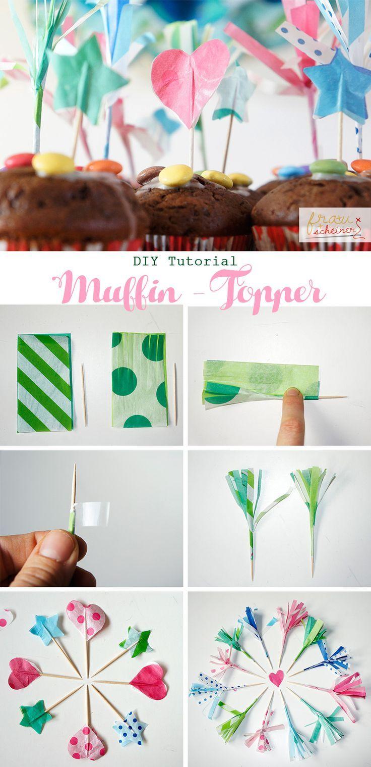 DIY Geburtstagsdeko zum Selbermachen mit Seidenpapier-PomPoms ...