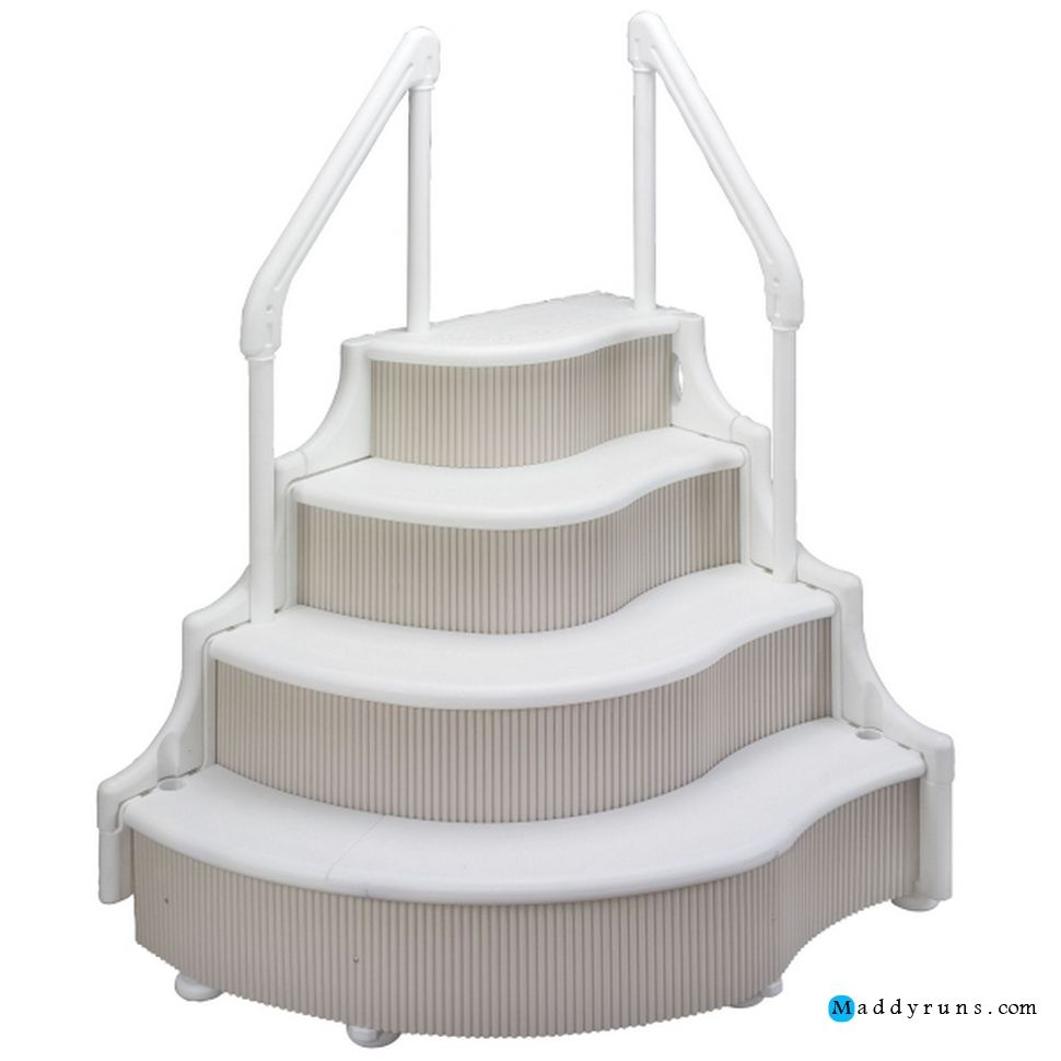 pool ladders stairs replacement steps for swimming pool ladder parts inground swimming pool ladders above ground swimming pool ladders for handicapped - Above Ground Pool Steps For Handicap