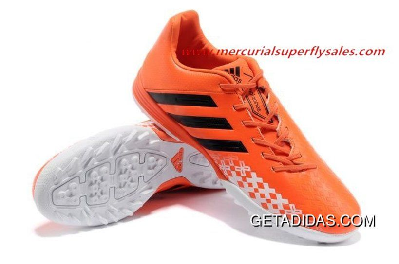 Free delivery -  Adidas Predator Lz 2 FG Blue White Orange Shoes