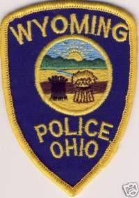 WISH,OH,WYOMING POLICE 1