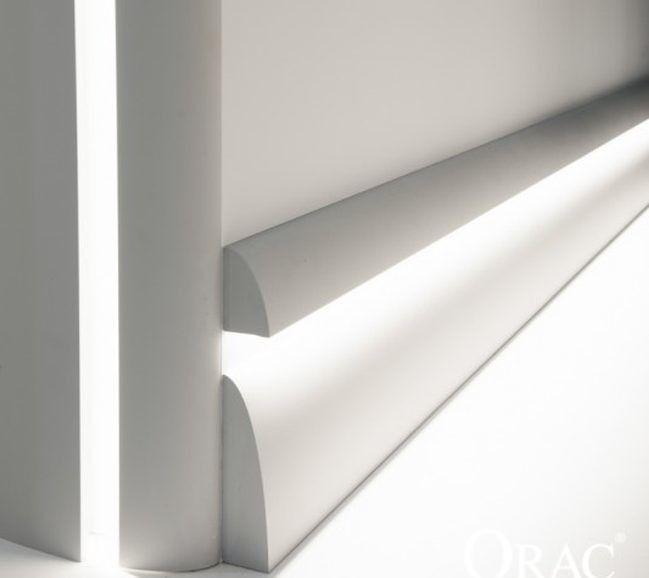 Las molduras con leds de orac decor iluminaci n indirecta lights moldings and bedrooms - Iluminacion indirecta led ...