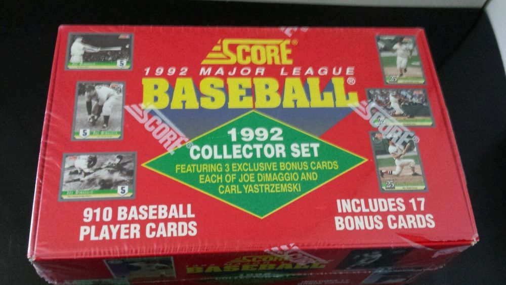 Check out our store score 1992 major league baseball