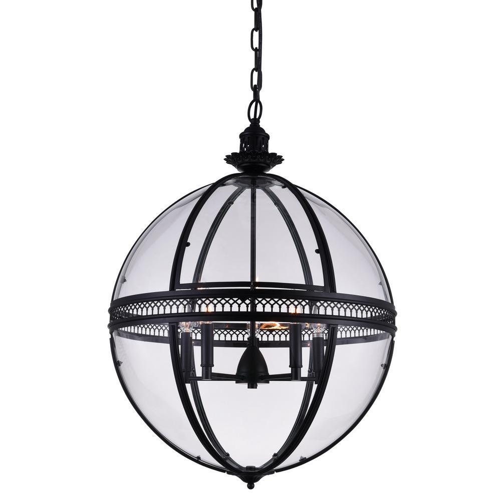 home depot black crystal chandelier