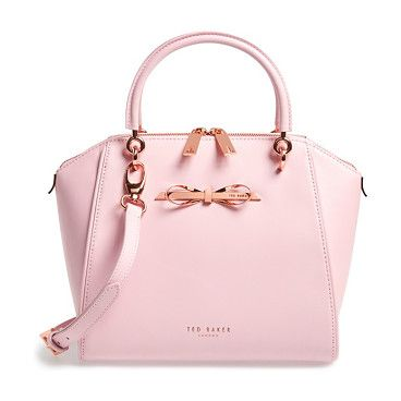 TED BAKER LONDON small slim bow tote found on Nudevotion