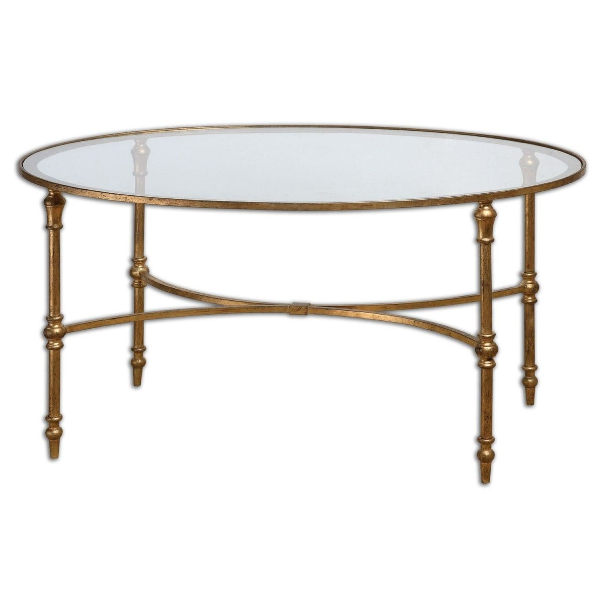 bamboo modern furniture. Gold Bamboo Glass Coffee Table - Contemporary Modern Furniture Check More At Http://