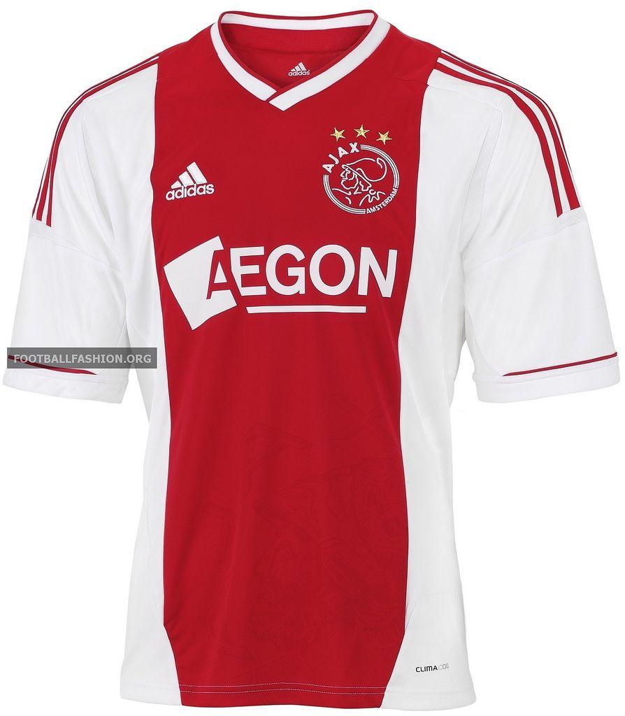 4f70d241c73 Ajax Amsterdam adidas 2012 13 Home Kit