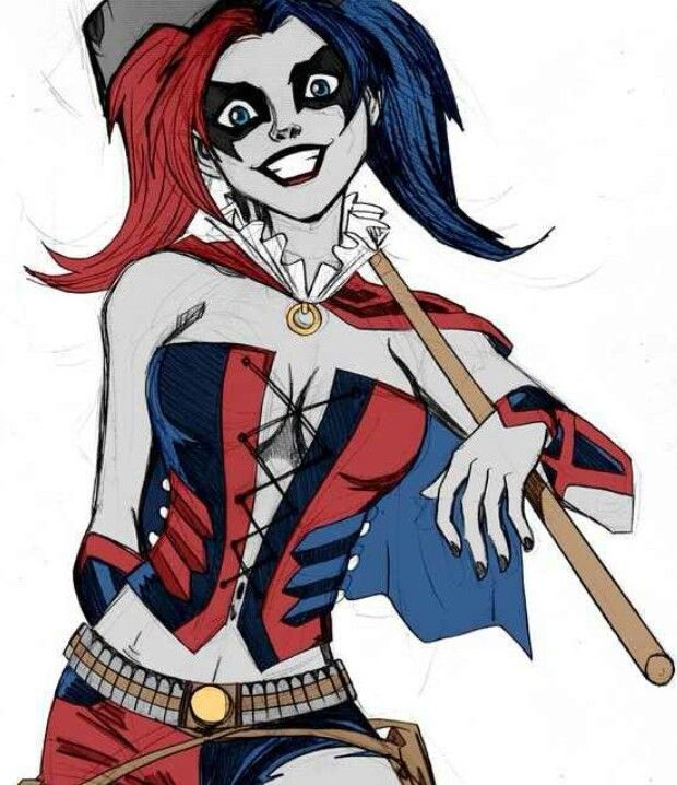 Pin On My Alterego Harley Quinn
