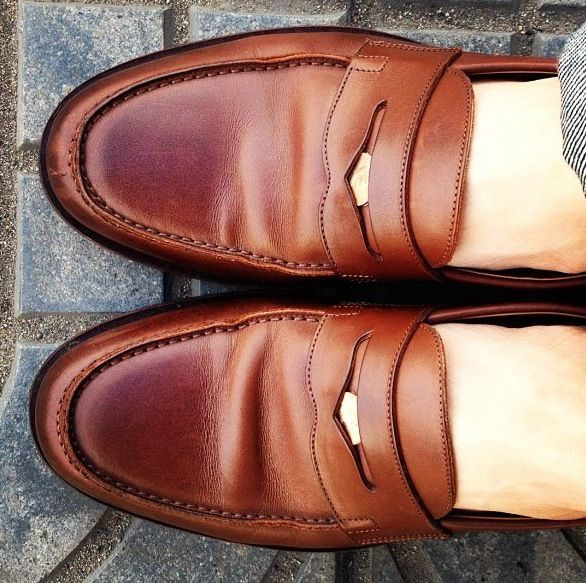 penny loafers with pennies... and sometimes 1062047bf
