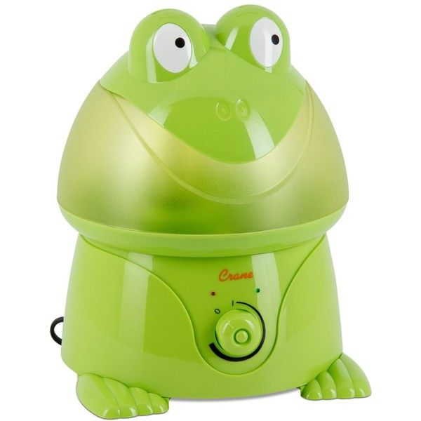 Crane Frog Cool Mist Humidifier ($50) Liked On Polyvore