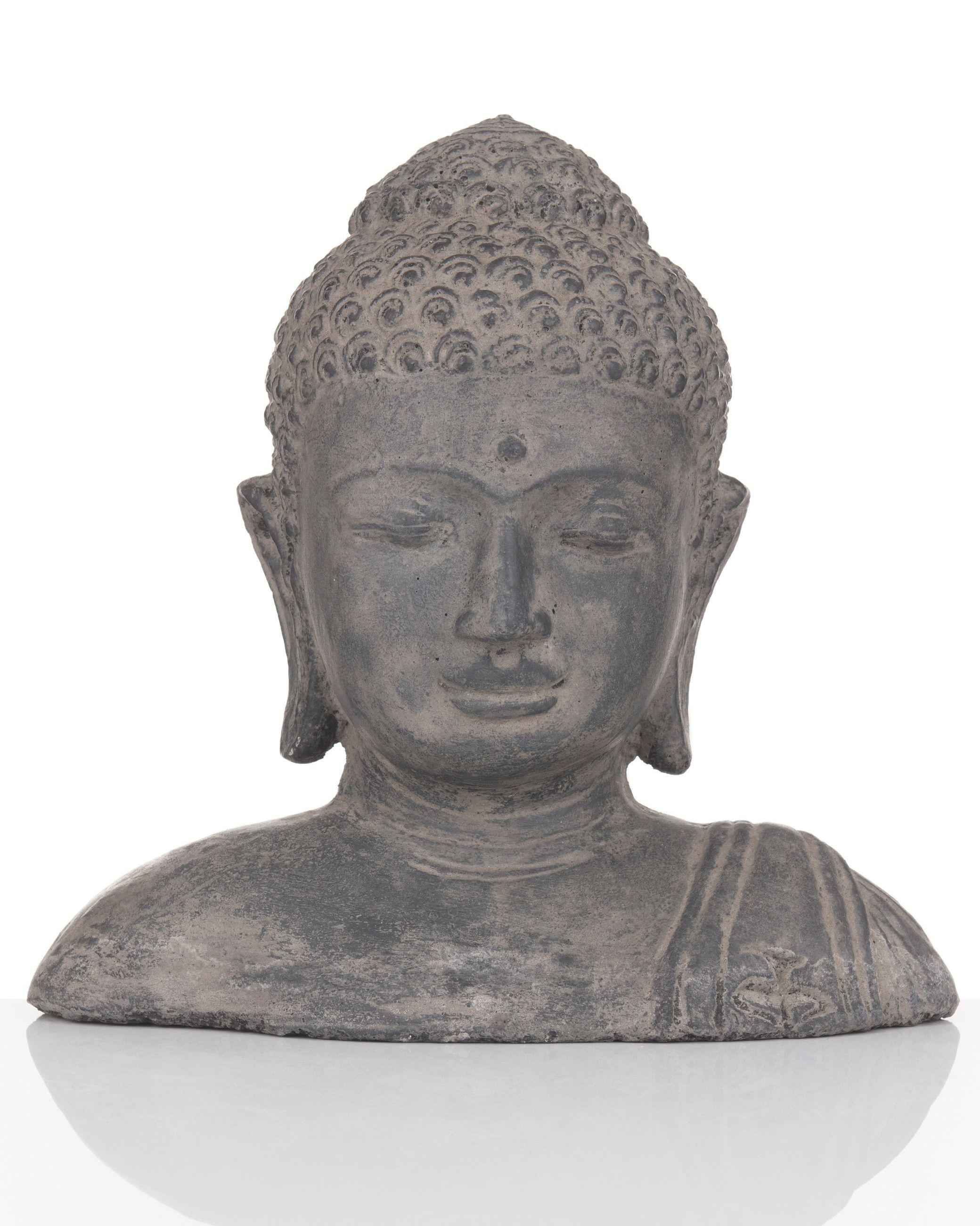 Darimana Buddha Buste Bemalt Aus Sandguss Hse24 Wohnen