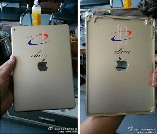 Reveladas novas imagens do iPad Air 2