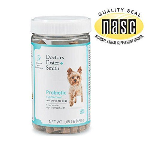 Doctors Foster And Smith Probiotic Soft Chews 240 Count
