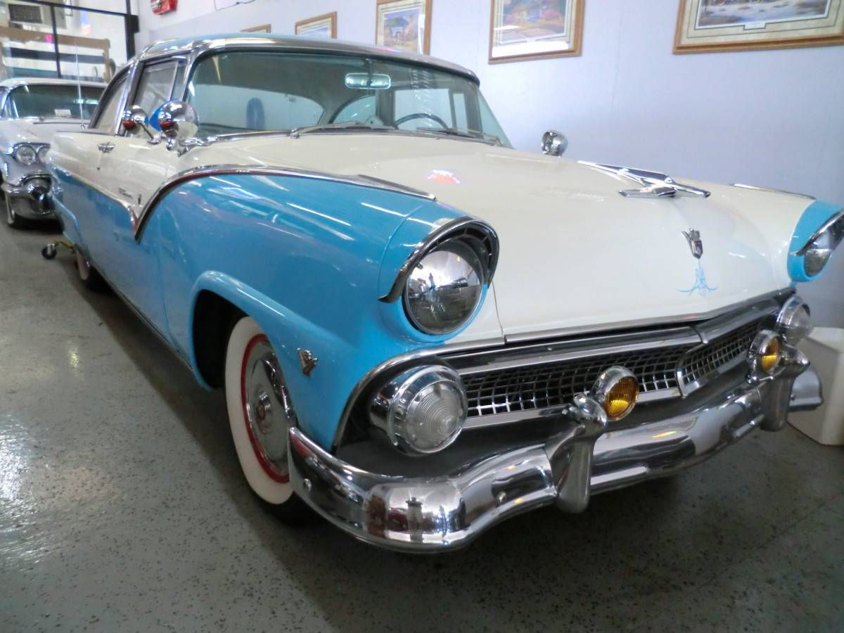 1955 Ford Crown Victoria 2 Door Hard Top Image 1 Of 24 Classic Cars Cars For Sale Ford Galaxie