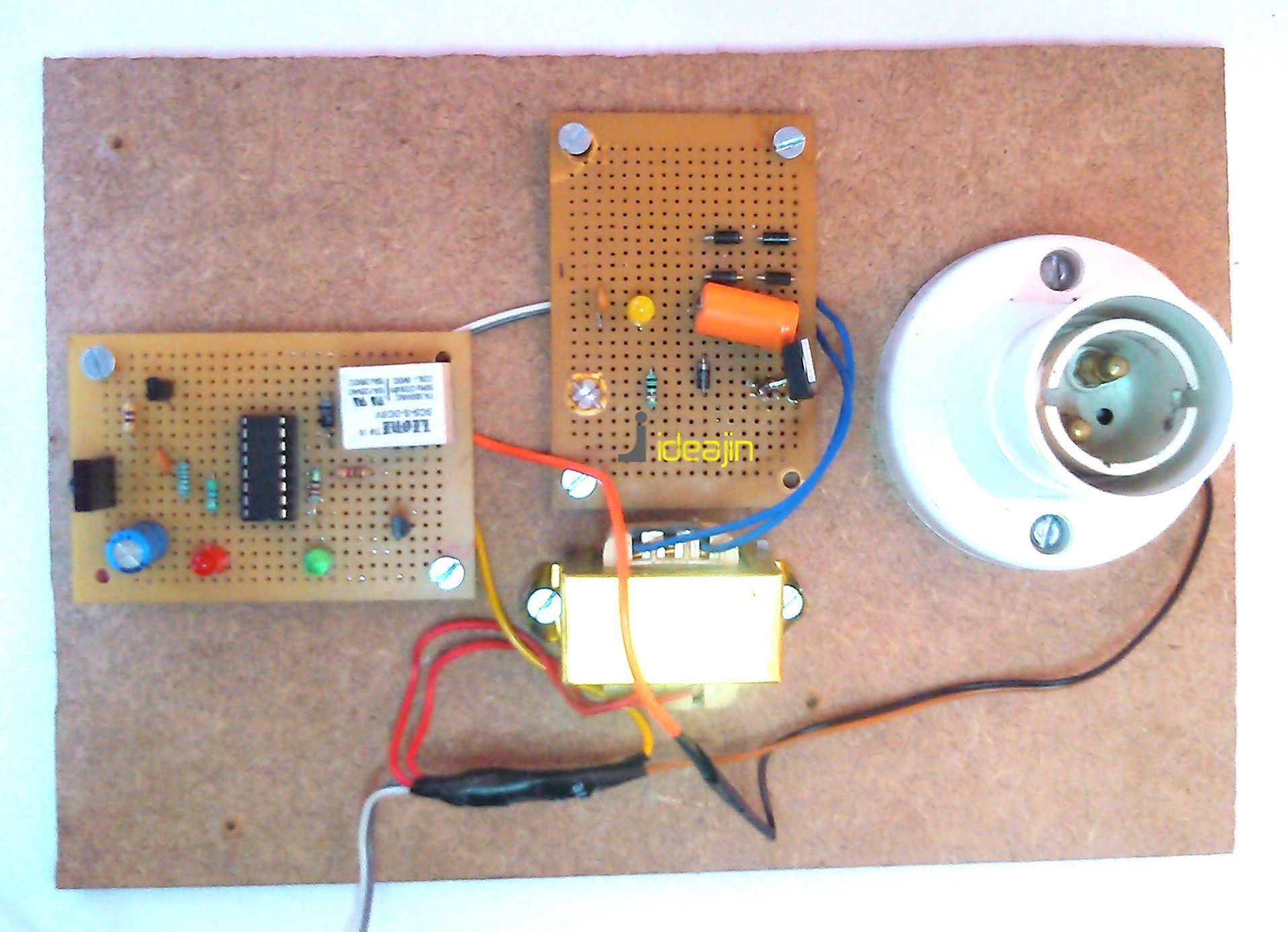 Ece Projects Remote Control For Home Appliances Electronic Projects