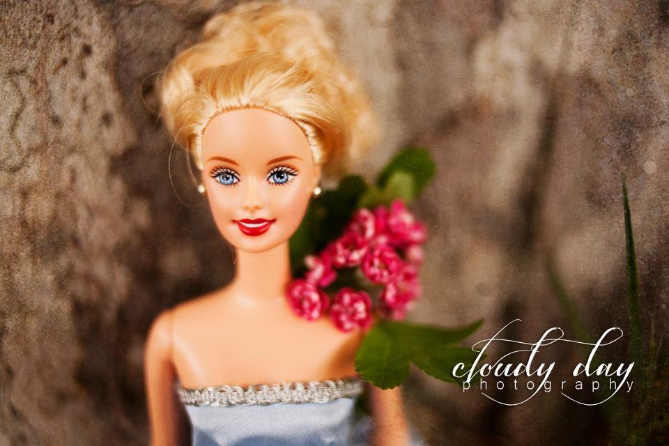 Senior Photo Shoot with Barbie