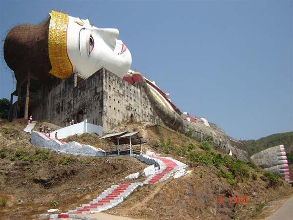mawlamyine myanmar | Sleeping Buddha, Mudin, Mawlamyine