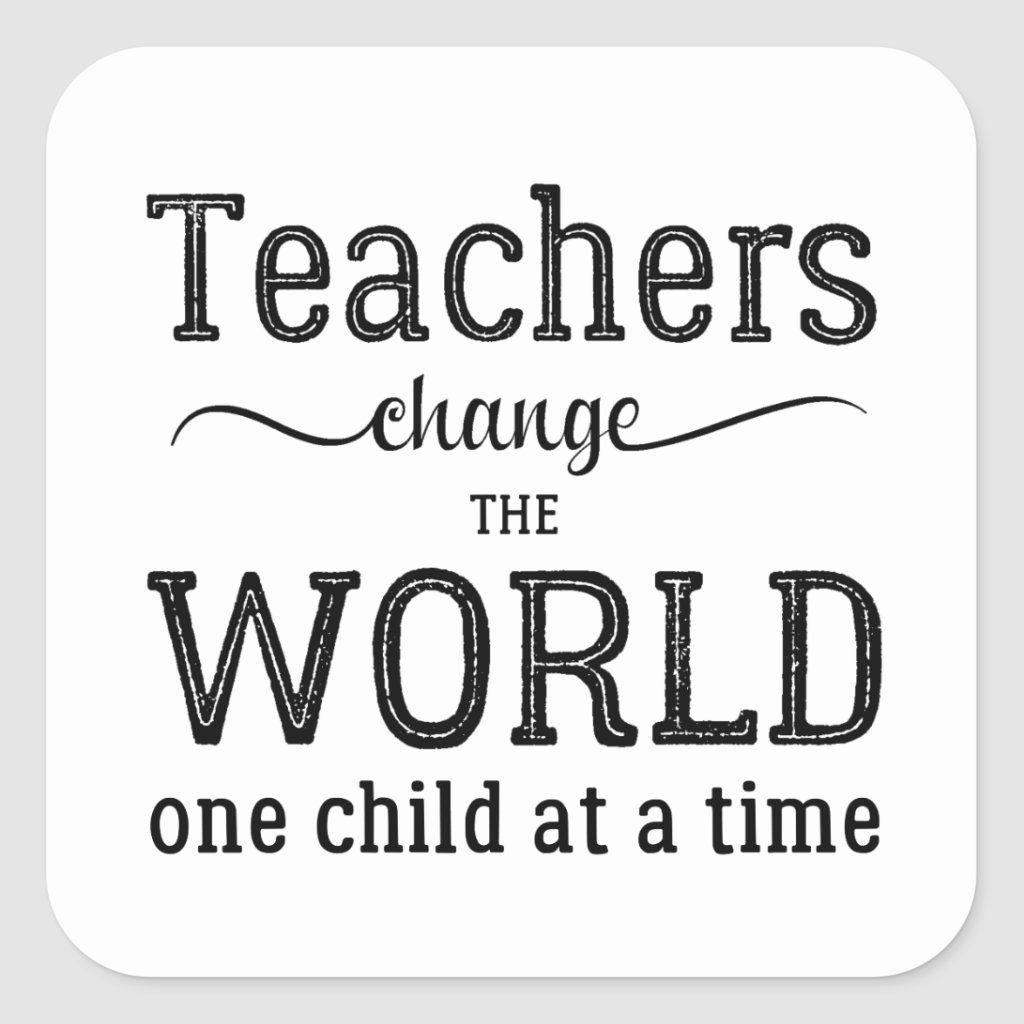Download Teacher appreciation simple typography quote square ...