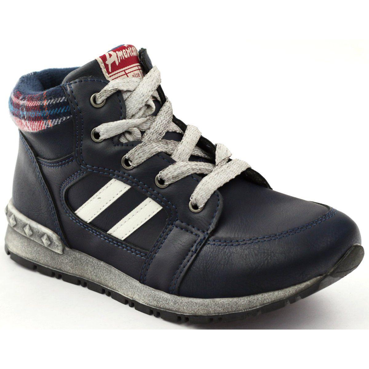 American Club Trzewiki Sportowe Wkladka Skorzana American Czerwone Wielokolorowe Biale Dc Sneaker Sneakers Shoes