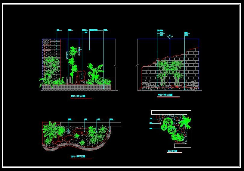 landscape design planmarketplace your source for quality cad files plans and details - Garden Design Cad