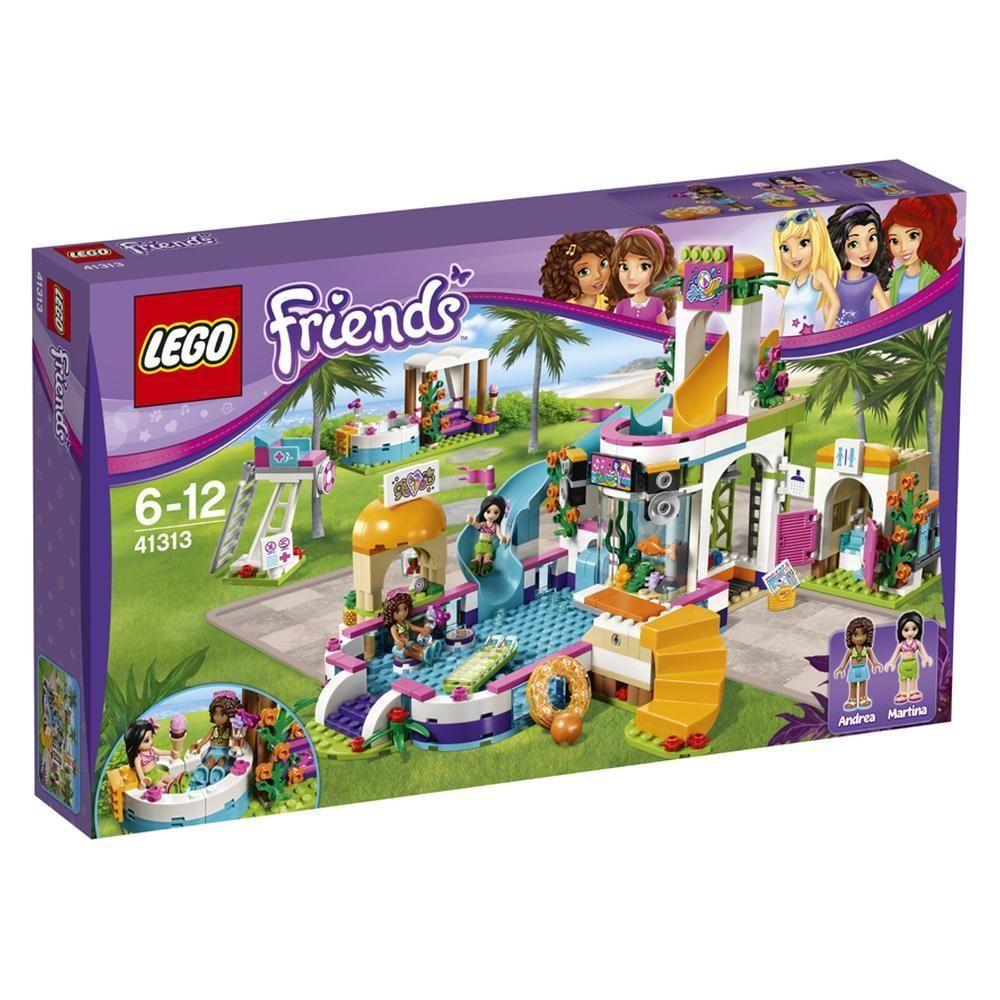 Spielzeug Lego Friends Heartlake Freibad 41313 Ab 6 Jahre Mit 589 Teilen Love It Lego Lego Love Kinder Spielzeu Lego Friends Lego Summer Pool