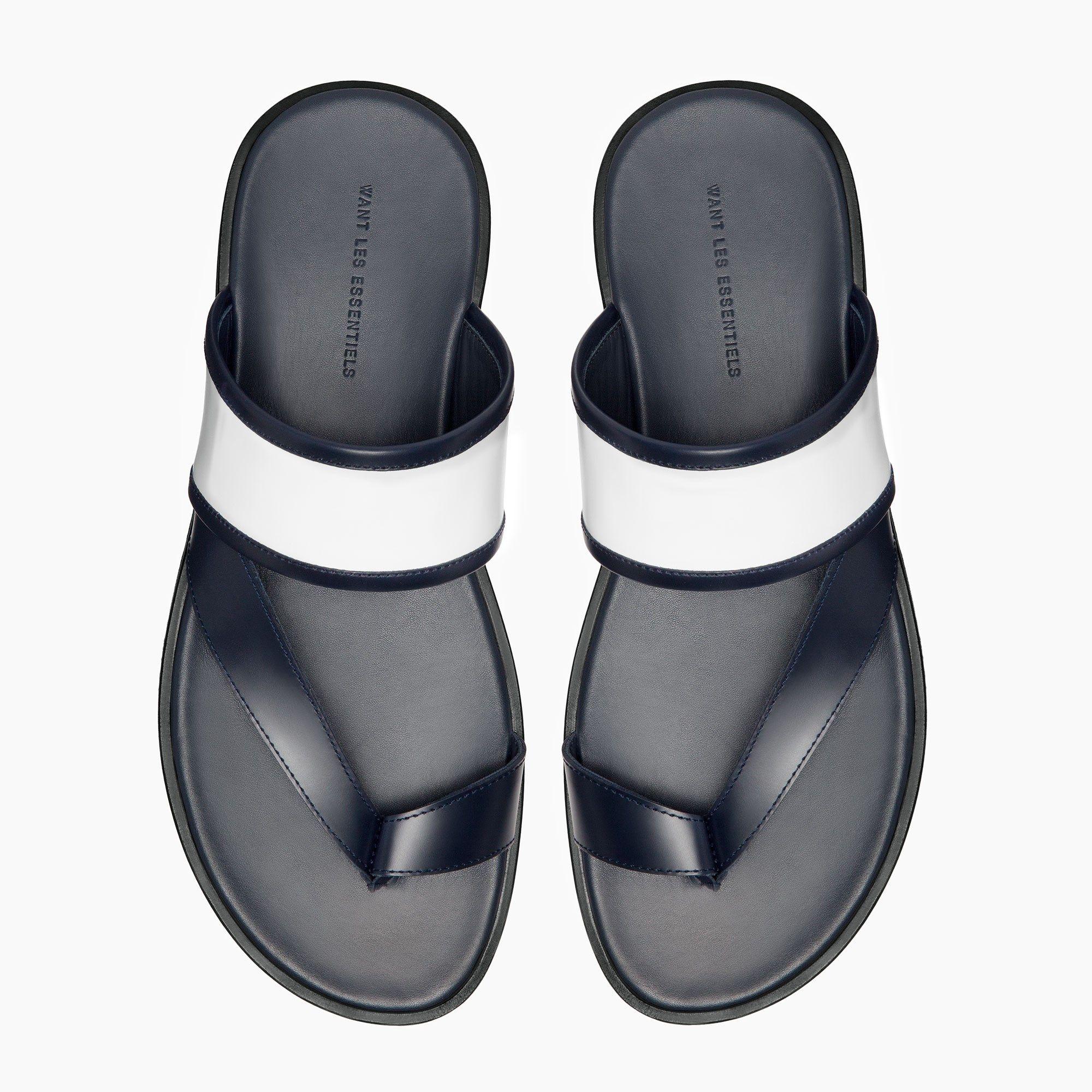 Mateos Leather Strap Sandals Leather Shoes Men Strap Sandals