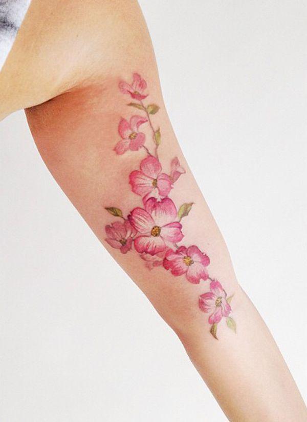 50 Examples Of Girly Tattoo Tats Girly Tattoos Flower Tattoos