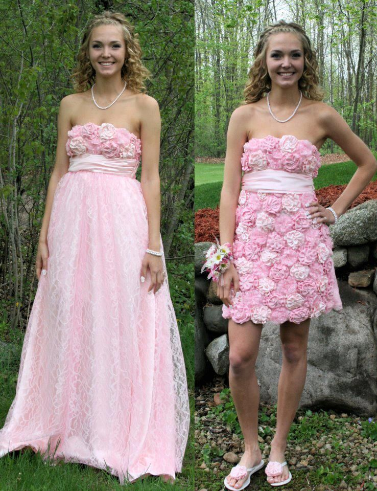 Self Designed Prom Dress :) Two in One   Dresses   Pinterest ...
