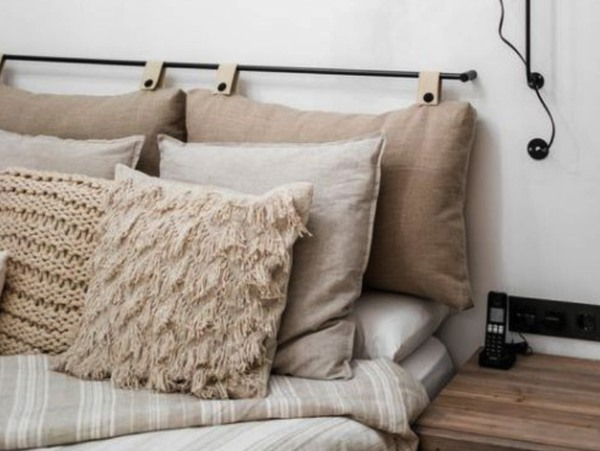 8 DIY Headboards  That Are Easy And Quick To Make