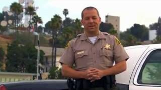Mobile Id Blue Check L A County Sheriff S Department Via Youtube Men Casual County Sheriffs Blue Check