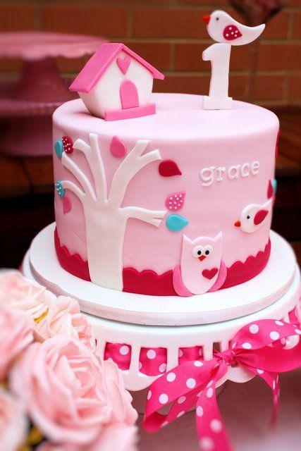 """Owls  Birdies / Birthday """"Gracie's 1st Birthday Party""""   Catch My Party"""