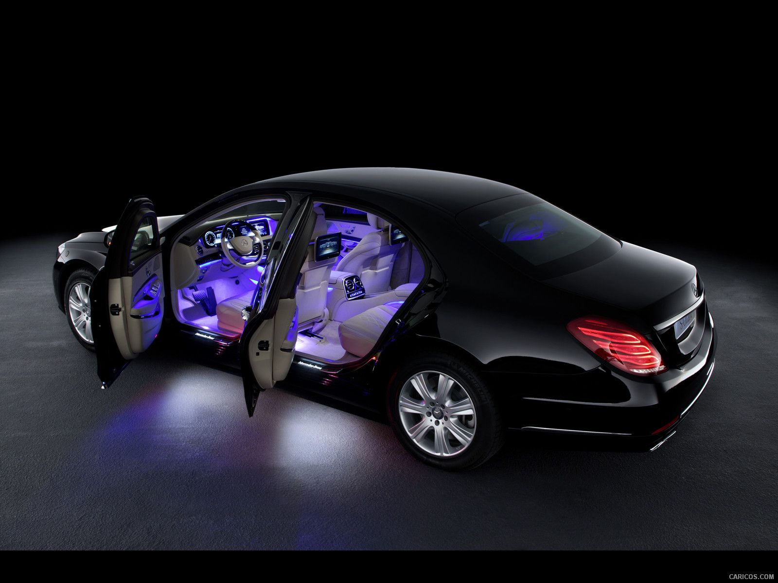 Take a look at the luxurious Mercedes Benz S Class
