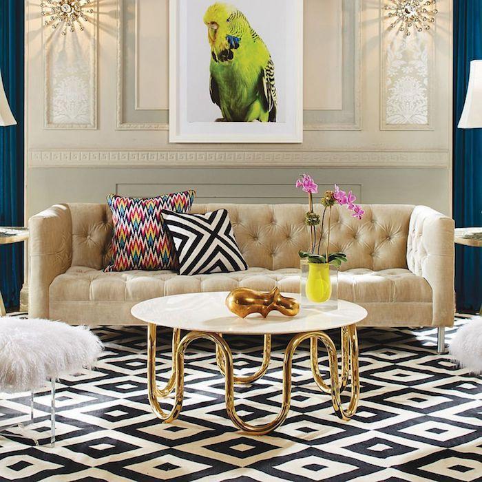 ▷ 1001 + Ideen für Wohnzimmer Wandfarbe 2018