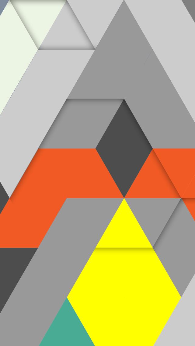 Free IPhone 5 Download Wallpaper Design By MarlonDoomennl Geometric Triangles Pattern Print Triangle