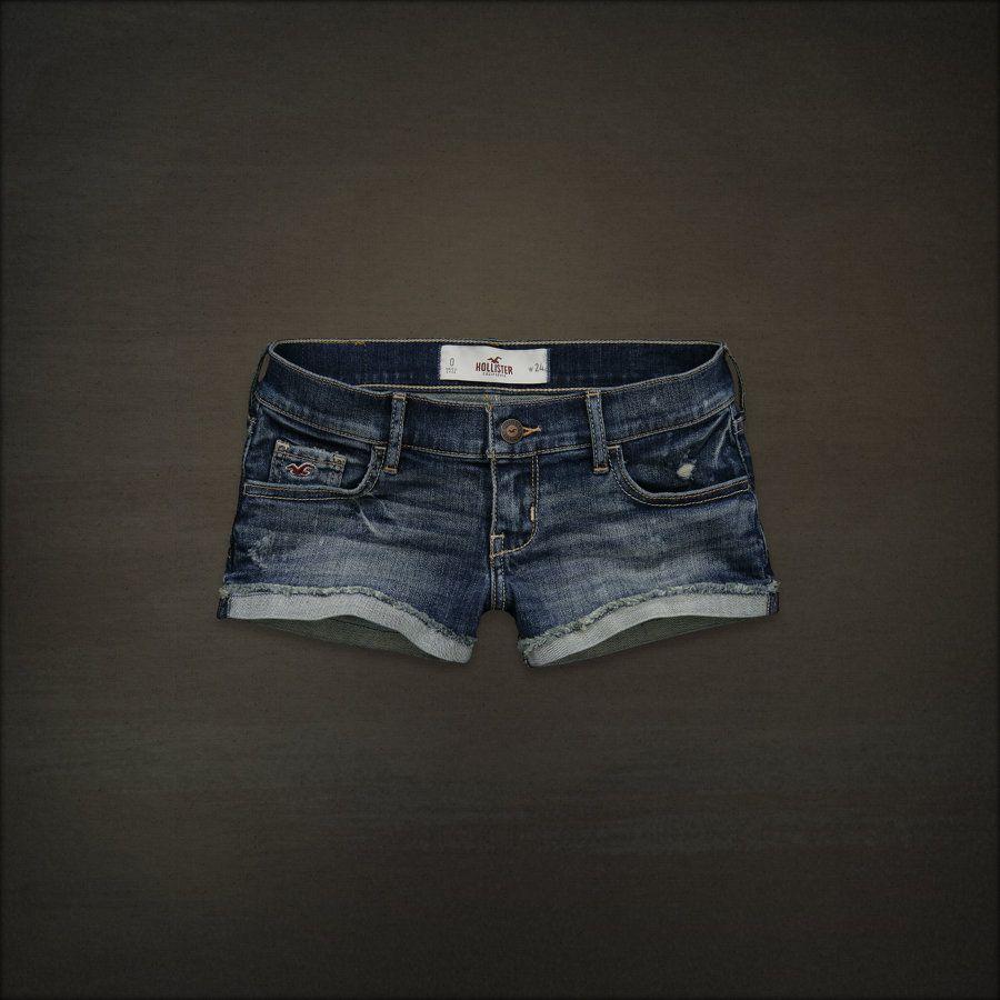 Hollister Co. - Shop Official Site - Bettys - Shorts - Denim - Monarch Beach