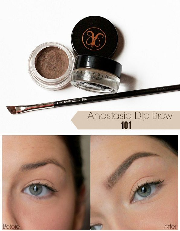 How to use Anastasia Dip Brow for flawless and precise brows ...