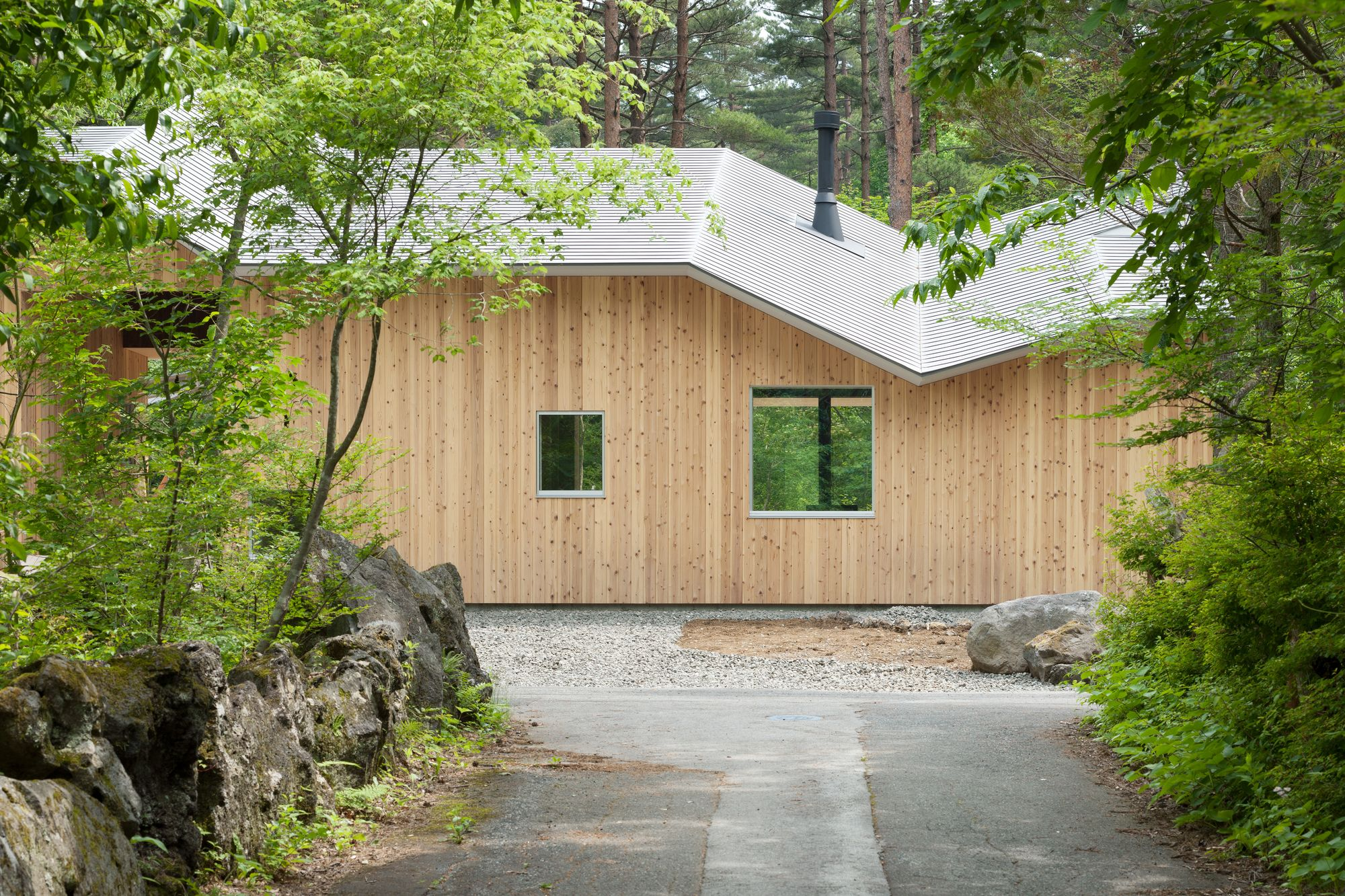 Shed Roof House Hiroki Tominaga Atelier Fuji House House Roof Architecture