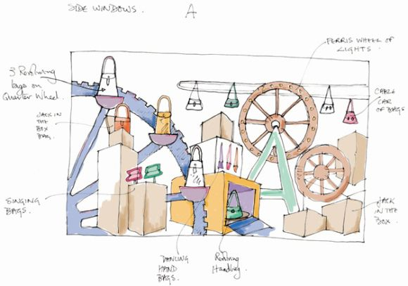 Another Sketch | Visual Merchandise | Pinterest | Sketches Window Displays And Window