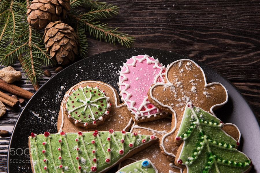 Different ginger cookies by olinchuk