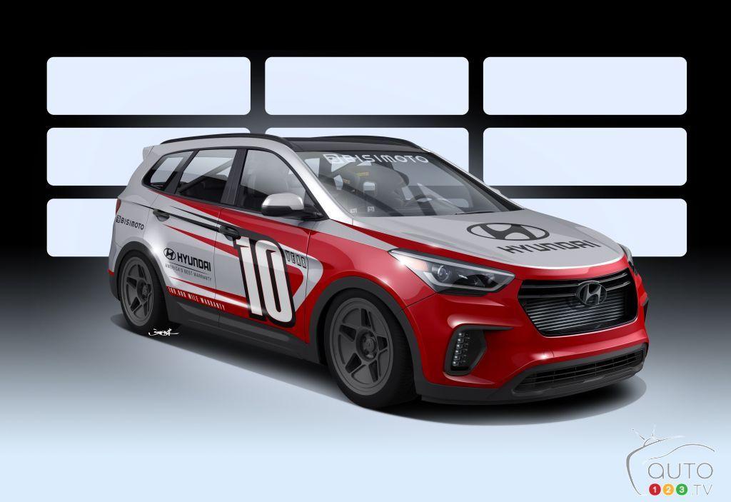 """Hyundai Santa Fe 1,040hp """"SantaFast"""" for SEMA"""