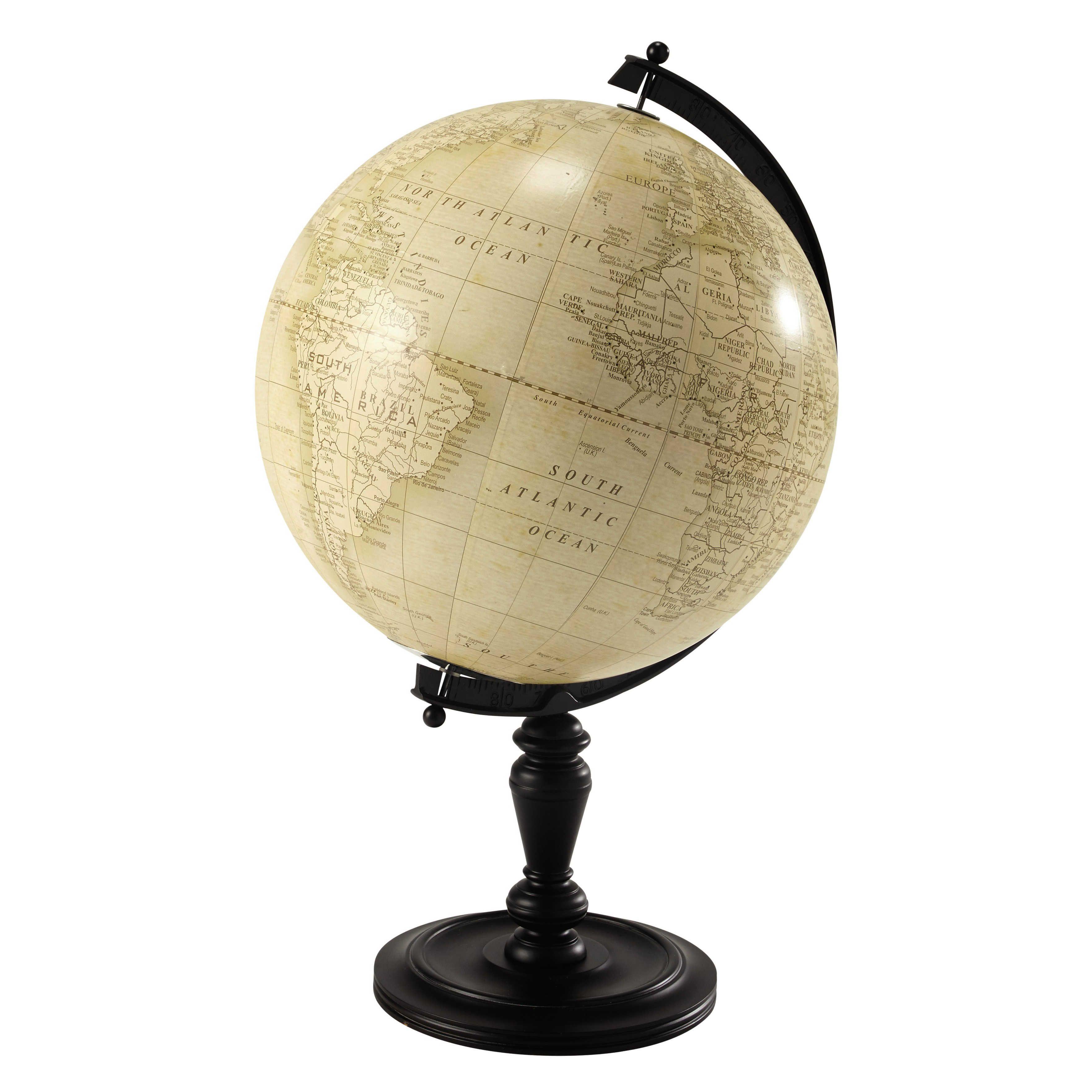 Lavoisier Wooden Globe H 77cm Maisons Du Monde Globe Terrestre Globe Maison Du Monde