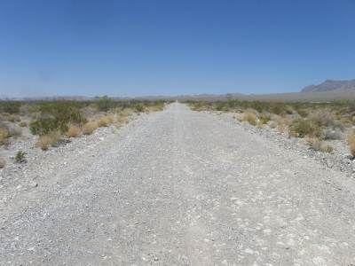 Rocky Desert Road